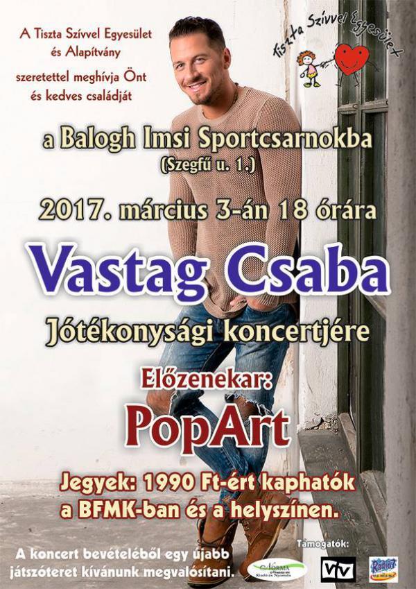 Vastag Csaba koncert 2017. március 3.