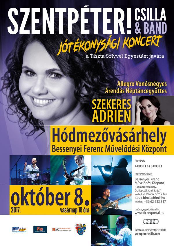 Szentpéteri Csilla koncert 2017. október 8.